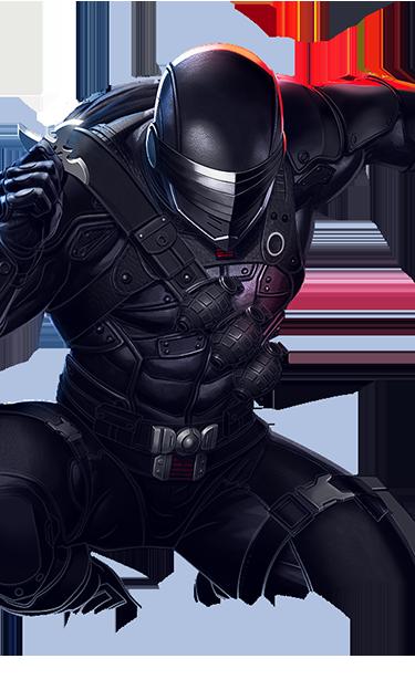 Snake Eyes GI JOE action figure