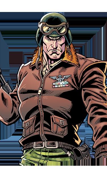 Hawk GI JOE action figure