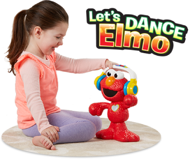 GET READY TO MOVE AND GROOVE WITH LET'S DANCE ELMO