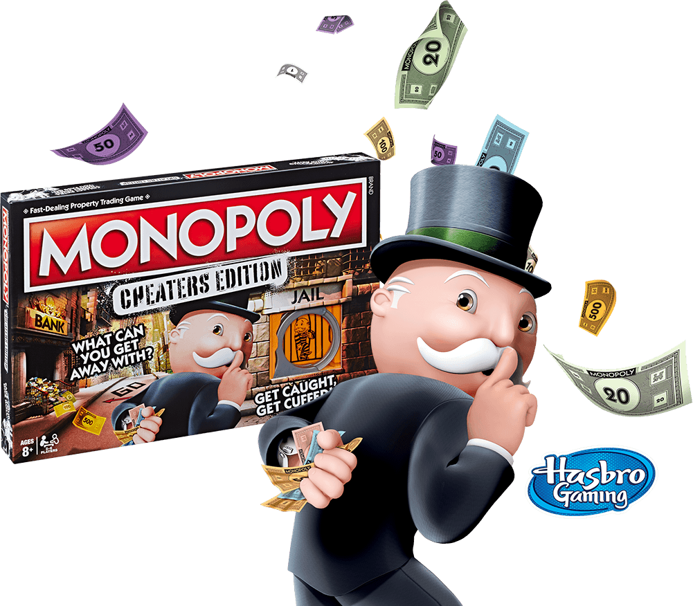 Monopoly Cheater's Edition - What Can You Get Away With?
