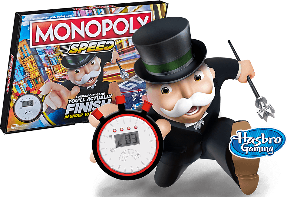 Monopoly Speed - Finish in Under 10 Minutes!