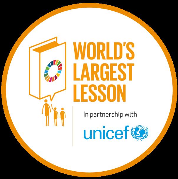 Worlds largest lesson logo