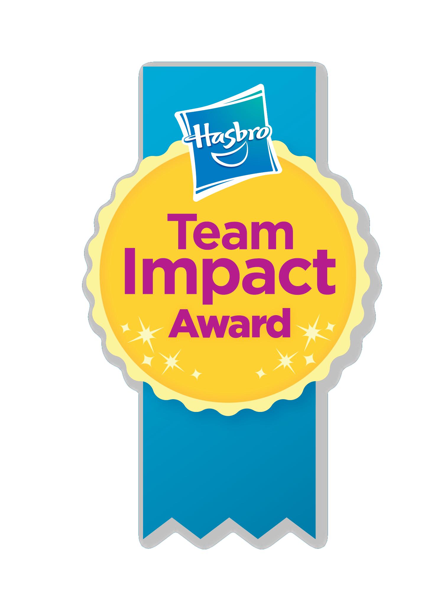 HasbroTeam Impact Award