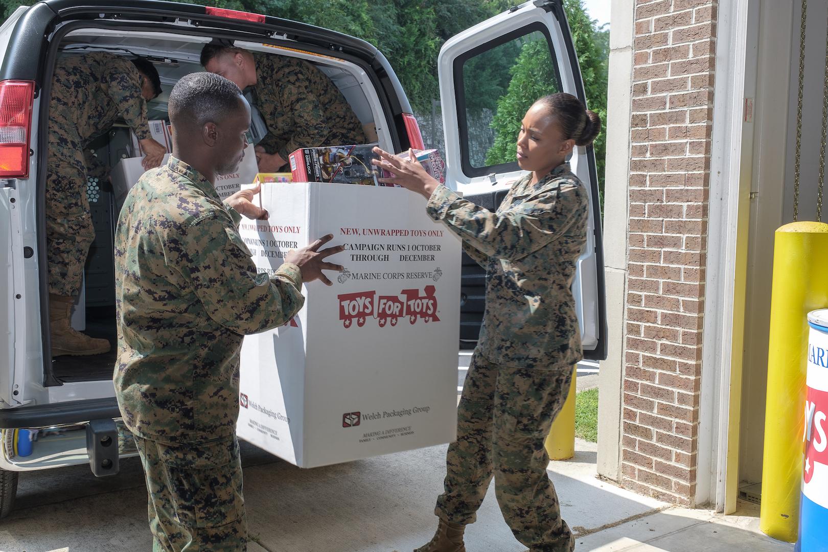 Marine Toys for Tots Foundation program