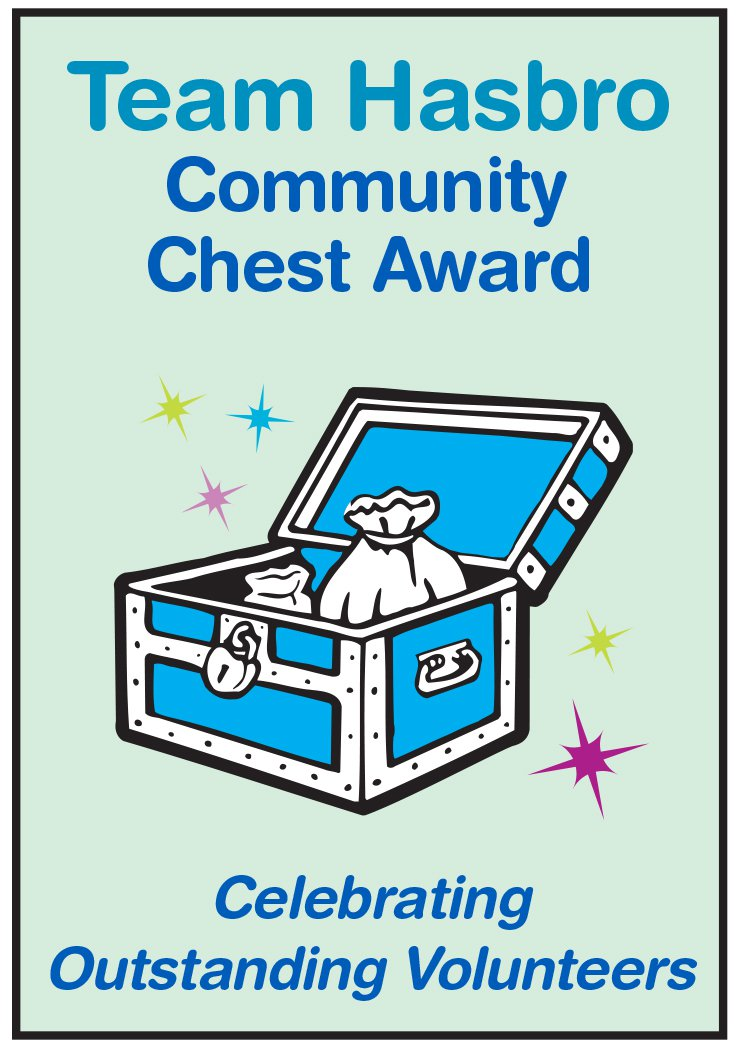Team Hasbro Community Chest Award