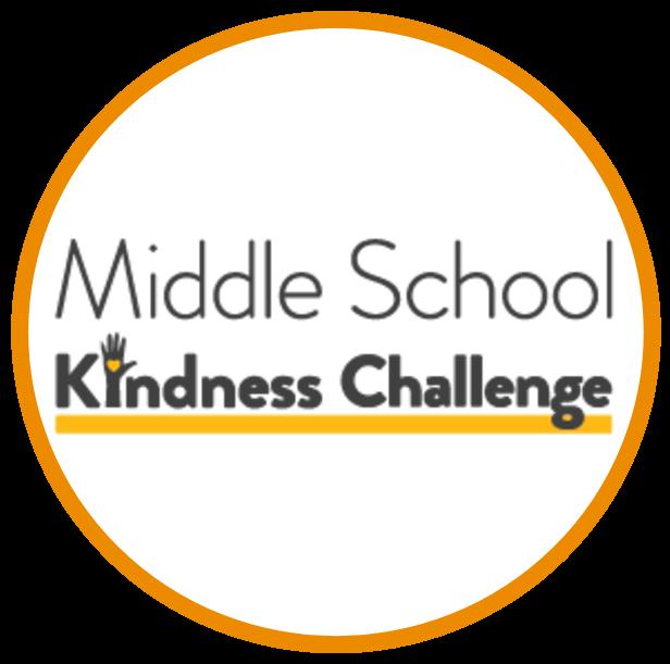 Middle school kindness challenge logo