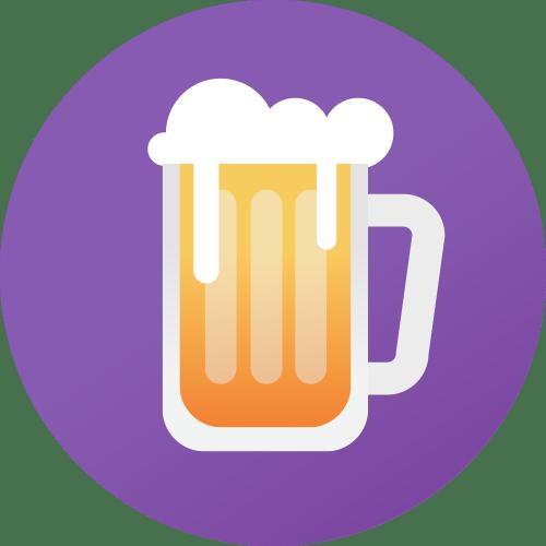 Free drinks and beer fridge Icon - backflip Studios