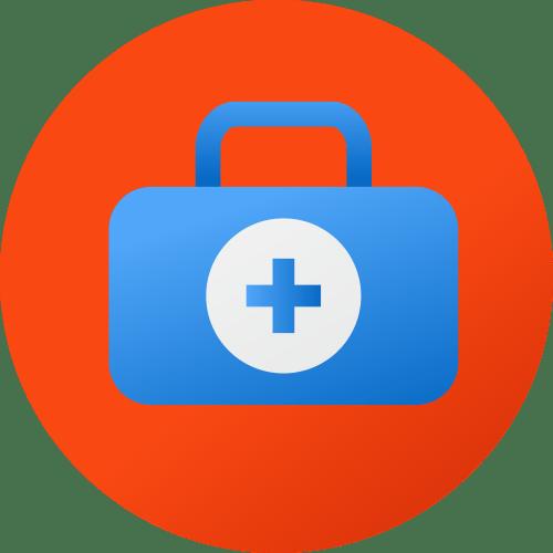Paid medical benefits icon - backflip Studios