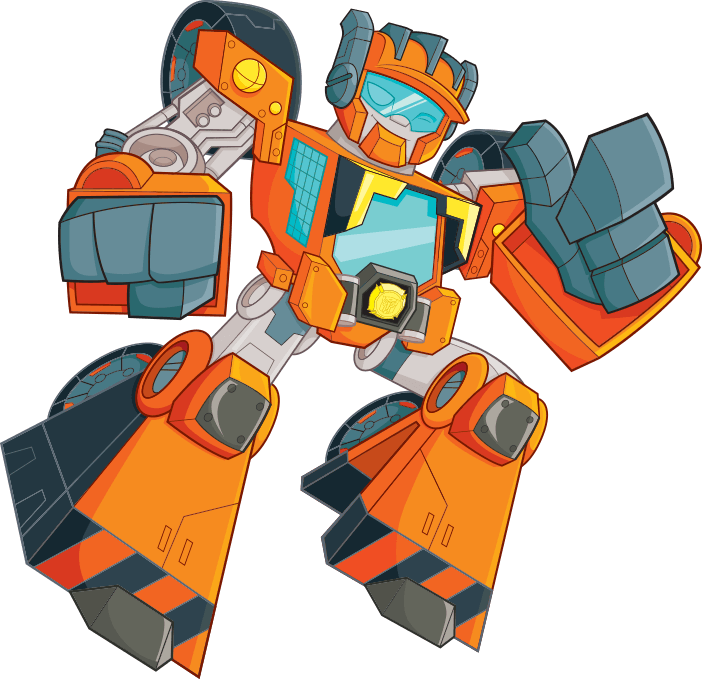 Rescue Bots WEDGE Hero Item