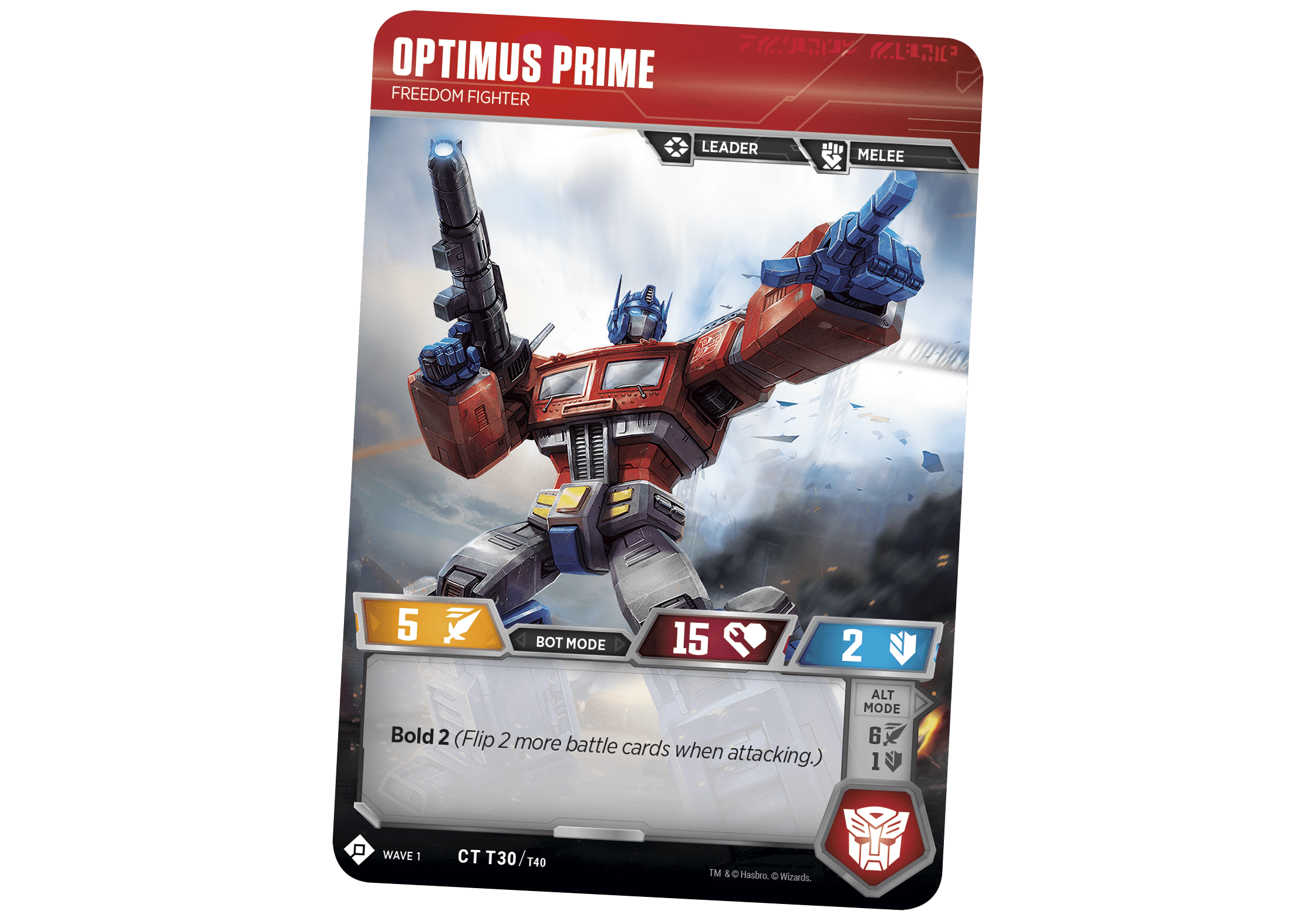 Transformers Trading Card Game - Collect, Build, Battle