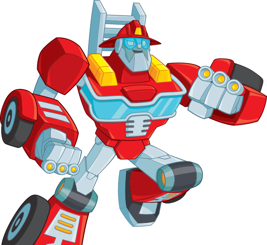 Rescue Bots Heatwave Hero Item