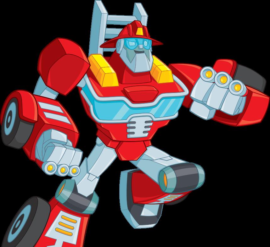 Rescue Bots Heatwave Hero