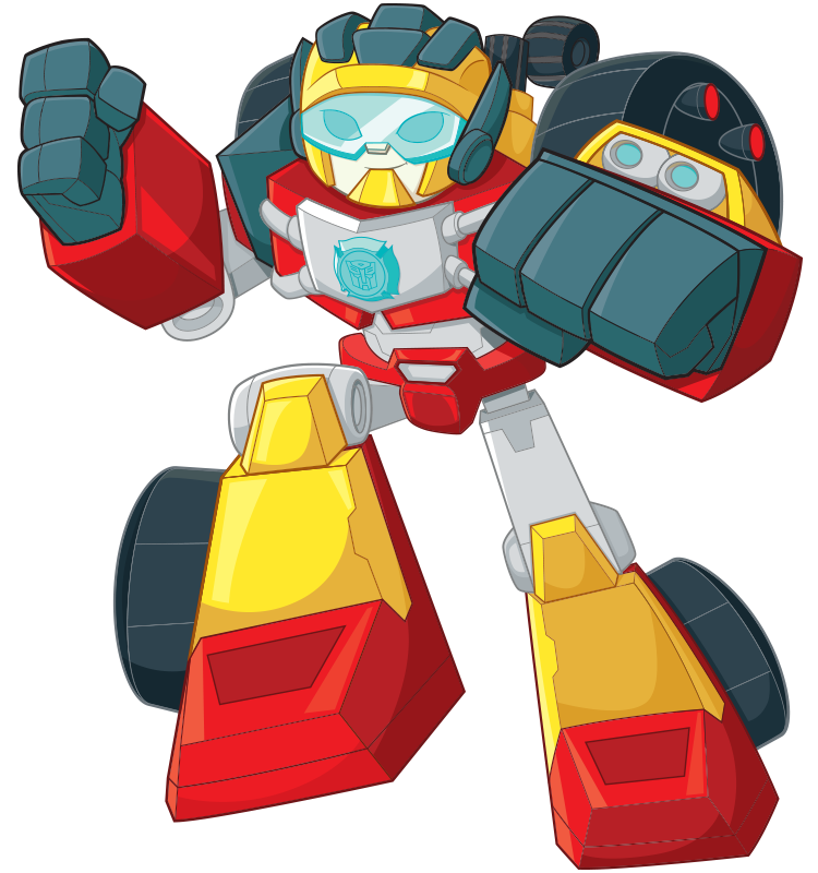 Rescue Bots HOT SHOT Bio hero Item