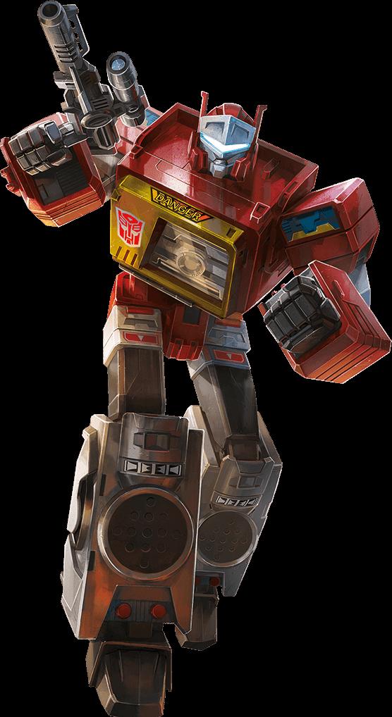 Titans Return AutobotBlaster Bio