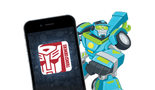 Rescue Bots Apps Section
