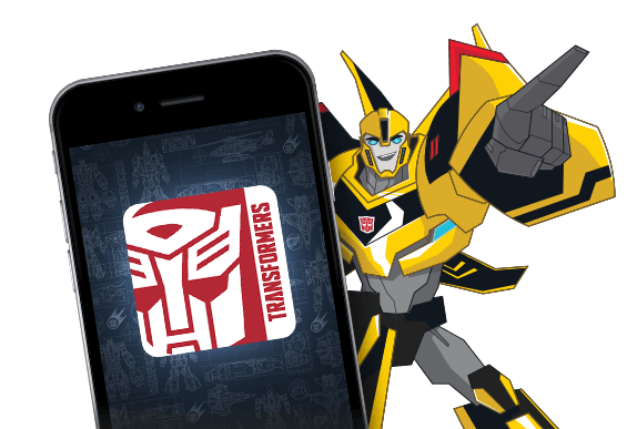 Robots In Disguise Apps Section