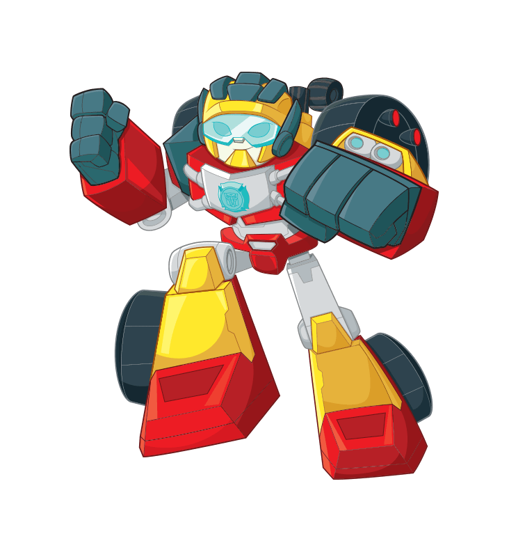 Rescue Bots HOT SHOT Hero Item