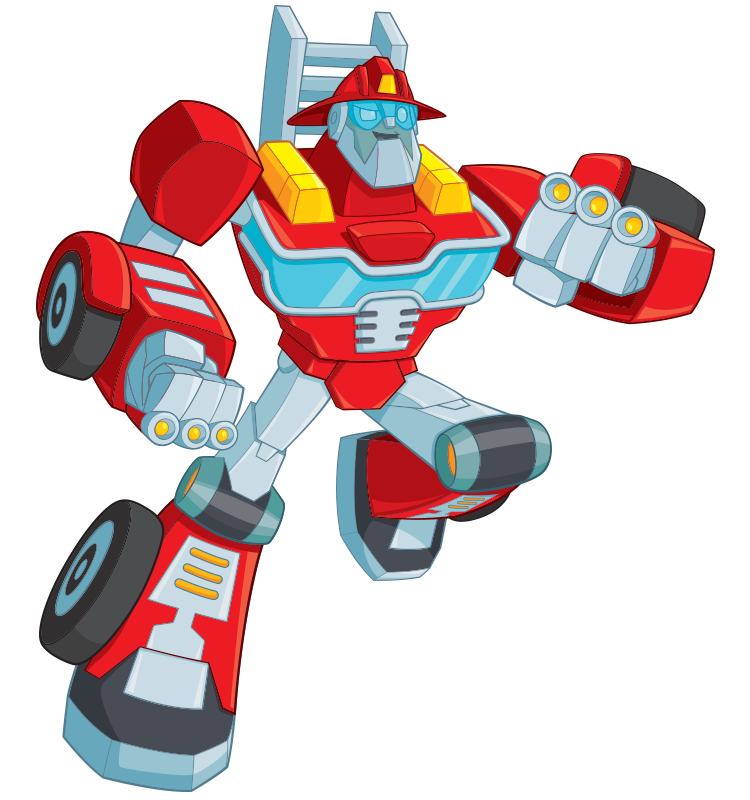 Rescue Bots Heatwave Bio hero Item