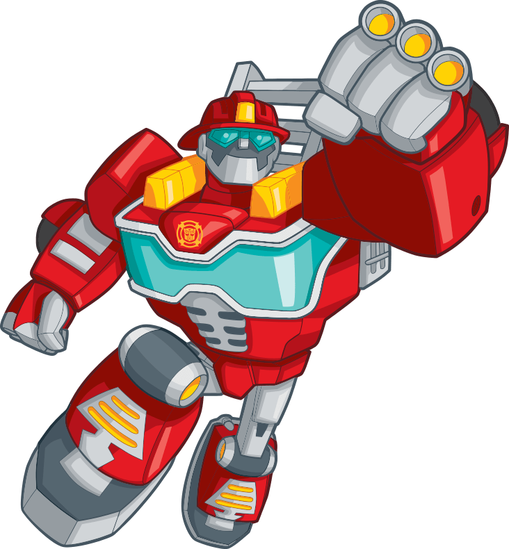 Rescue Bots Heatwave Hero