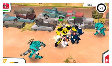 Robots in Disguise App