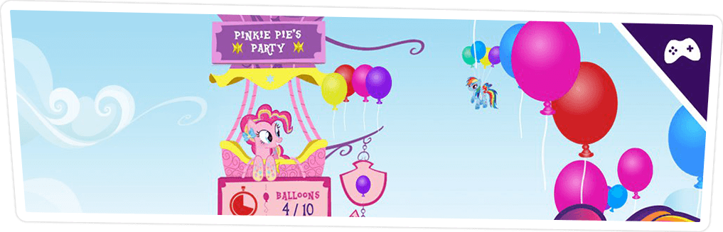 PINKIE PIE'S PARTY GAME ONLINE