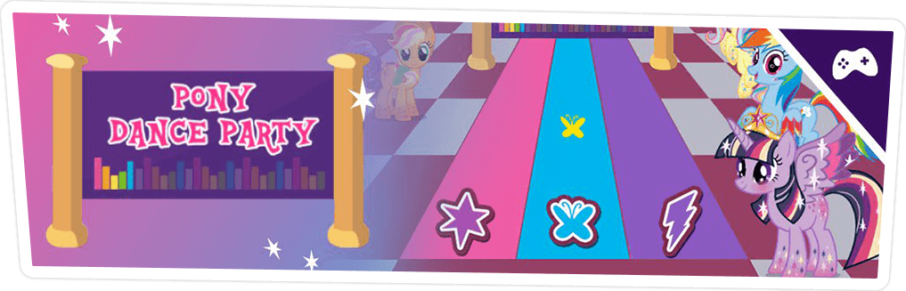PONY DANCE PARTY GAME ONLINE