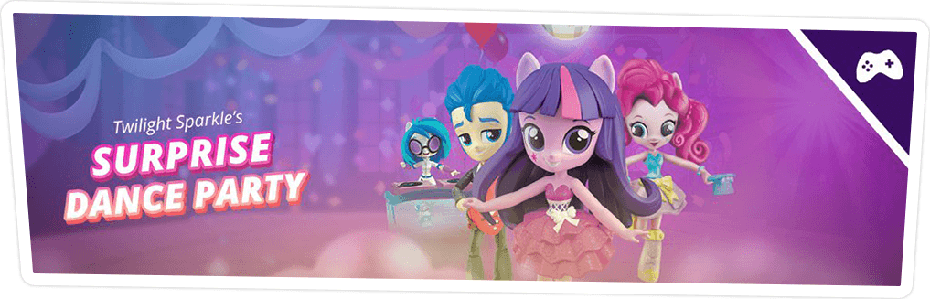 TWILIGHT SPARKLE'S SURPRISE DANCE PARTY GAME ONLINE