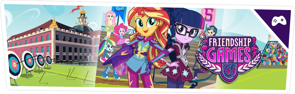 EQUESTRIA GIRLS FRIENDSHIP GAMES CHAPTER 1