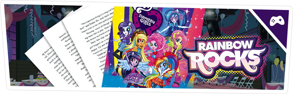 EQUESTRIA GIRLS RAINBOW ROCKS الفصل الأول