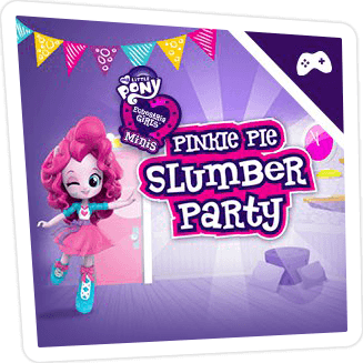 PINKIE PIE'S SLUMBER PARTY GAME ONLINE