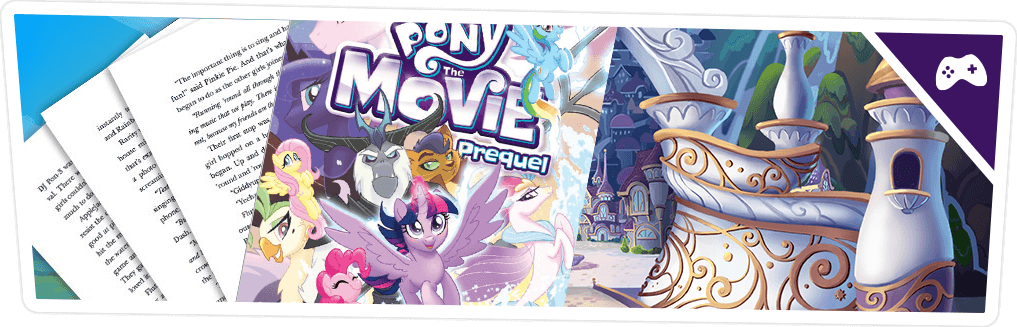 MLP The Movie Prequel Comics Sampler