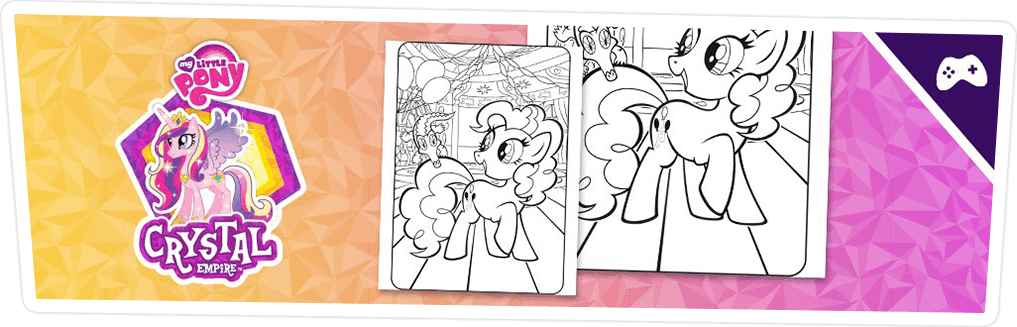 COLORING PAGE: PINKIE PIE