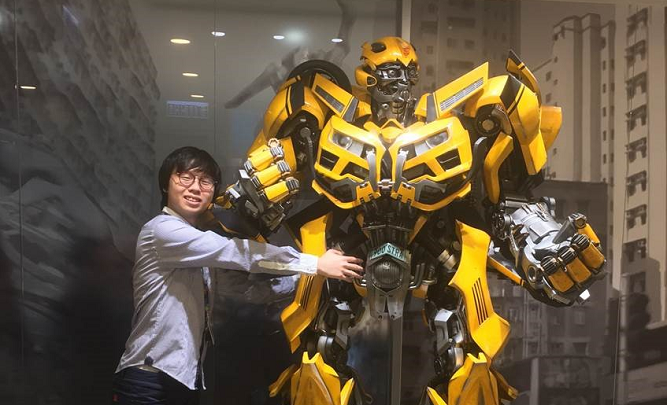 Kerwin, Engineering Intern- Hasbro Hong Kong