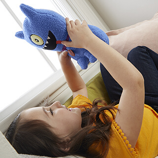 Feature Sounds Ugly Dog Plush