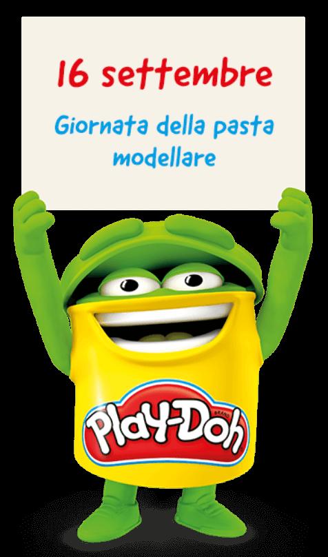 Giornata mondiale della pasta da modellare Play-Doh