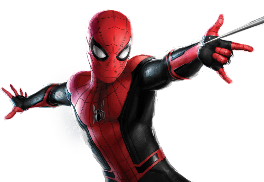 Spider man Character Logo