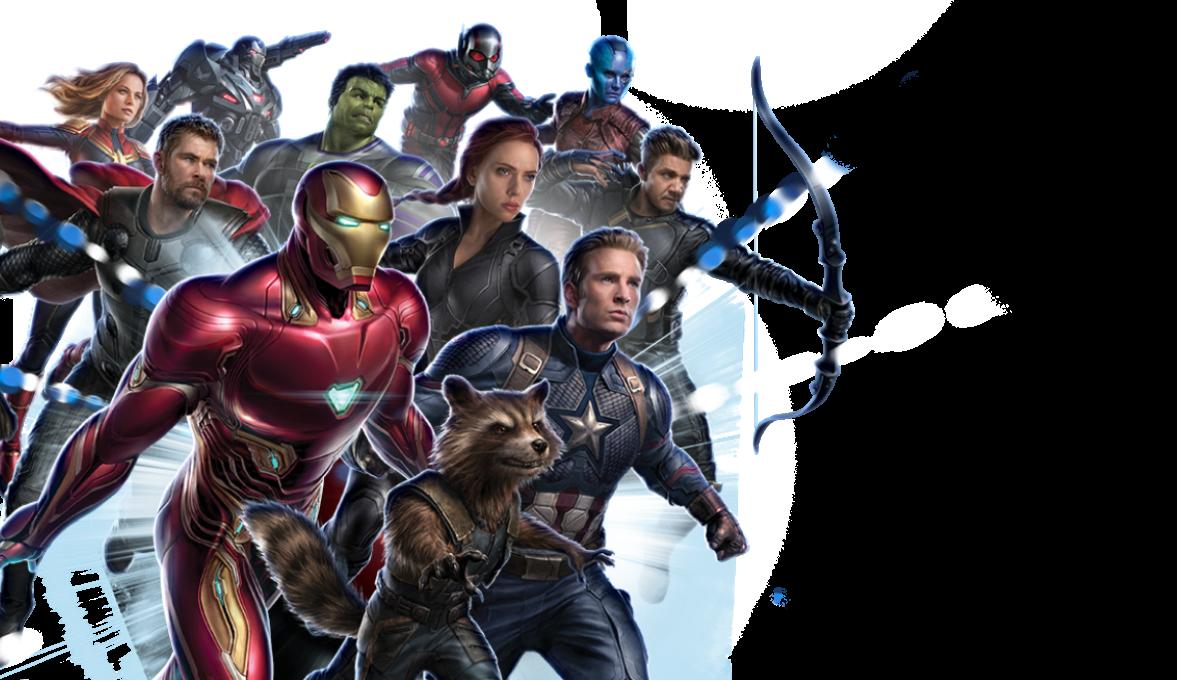 Avengers Endgame Character Logo