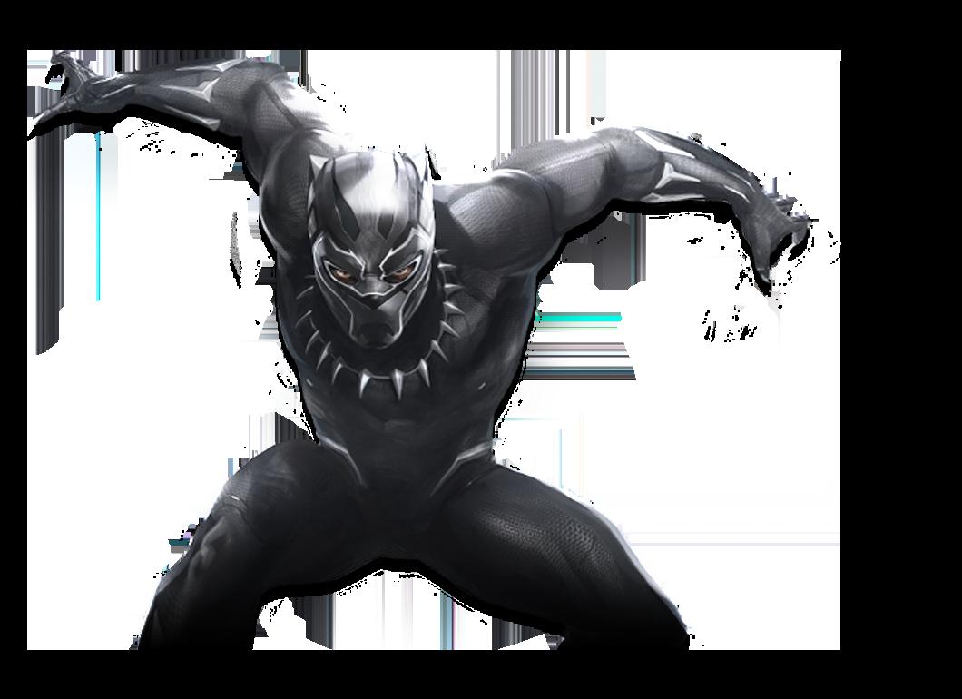 Marvel Black Panther Character Logo