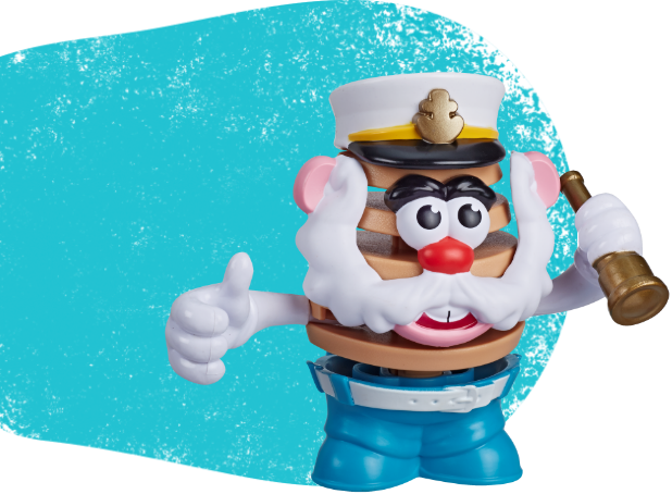 Mr. Potato Head Chips Saul T. Chips Toy