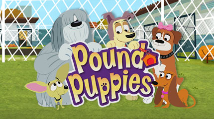 Find a forever home with Pound puppies