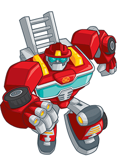 Roll to the rescue with Transformers Rescue Bots