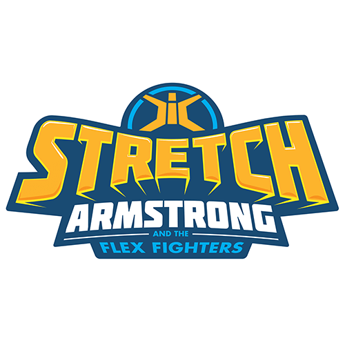 Stretch Armstrong and the Flex Fighters logo