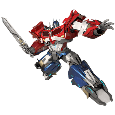 Optimus Prime Transformer Character