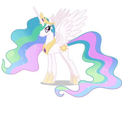 Princess Celestia Character of My Little Pony Friendship is Magic