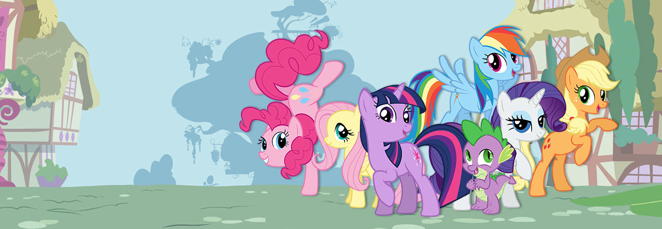 My Little Pony: Friendship Is Magic banner
