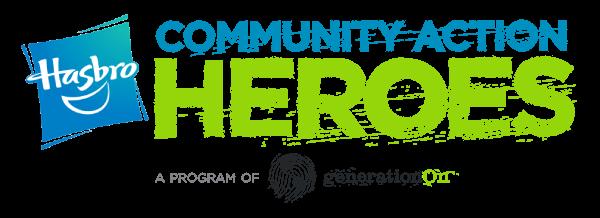 Hasbro Community Action Heroes logo