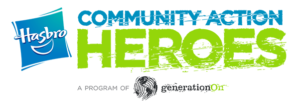 Hasbro Community Action Heroes logo