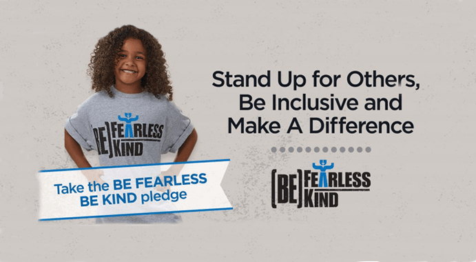 BE FEARLESS BE KIND Pledge Worksheets and Bilingual Pledge Cards Available for Download