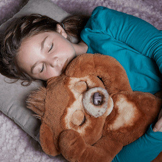 Cubby Sleeping