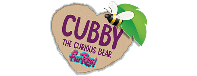 Cubby The Curious Bear Logo